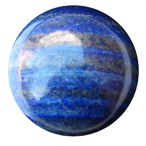 Lapis Lazuli Fortune Telling Ball Gemstone Crystal Sphere 64mm 430g (LB10)